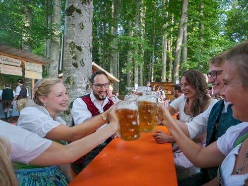 Waldfest Schaftlach am Tegernsee
