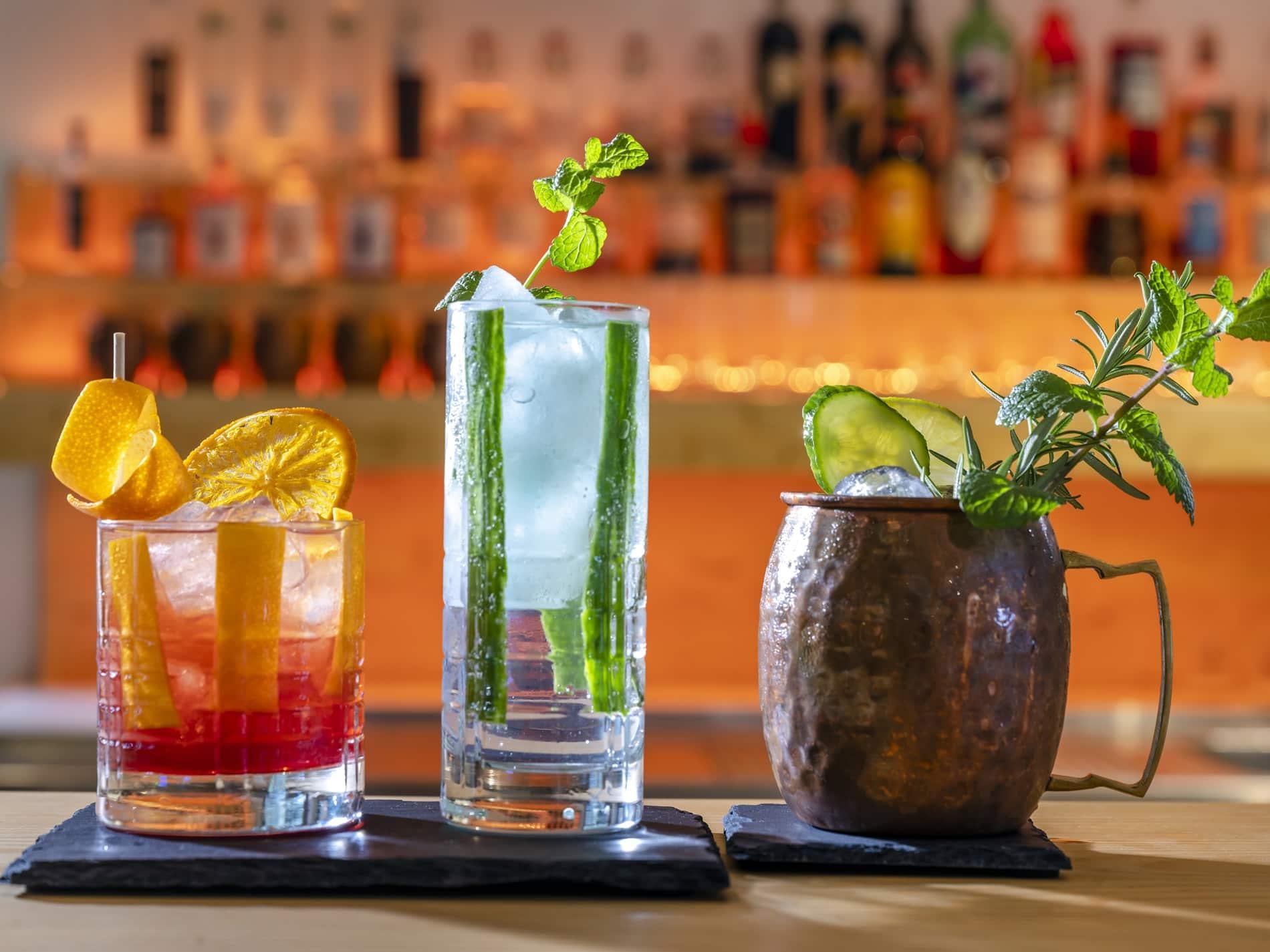 Cocktails Bar Alperie am Schliersee
