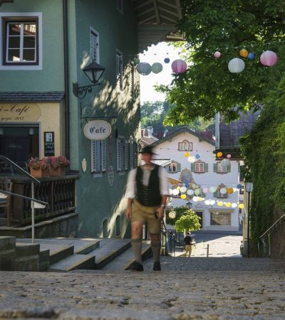Gasse in Miesbach