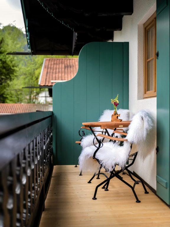 Balkon Ferienwohnung Freiheit Ferienhaus Alperie