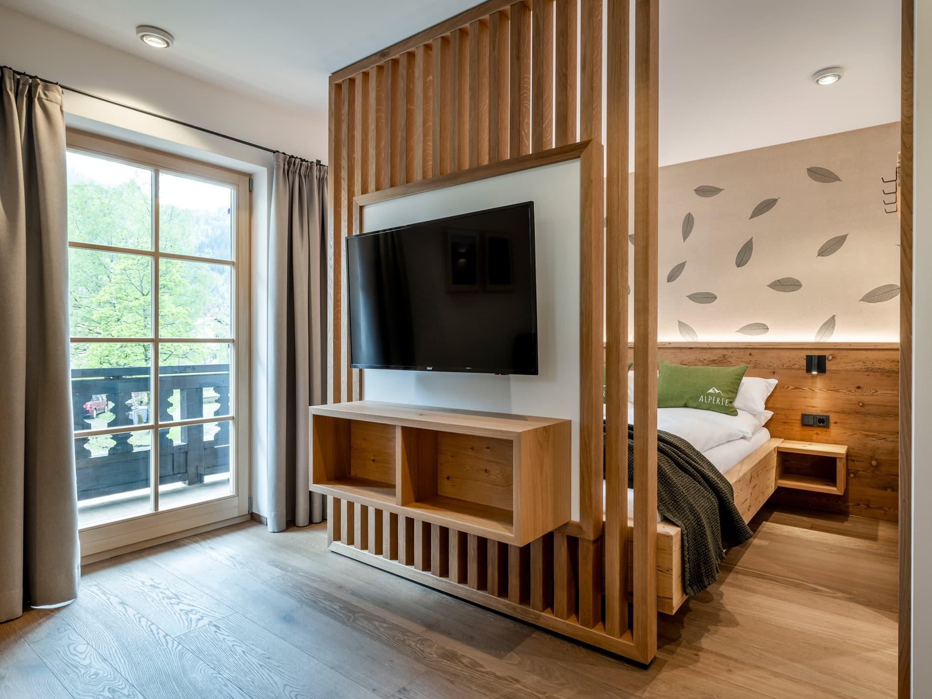 Schlafzimmer Ferienwohnung Freiheit Ferienhaus Alperie