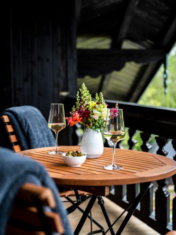 Balkon Ferienwohnung Gipfelstürmer Ferienhaus Alperie