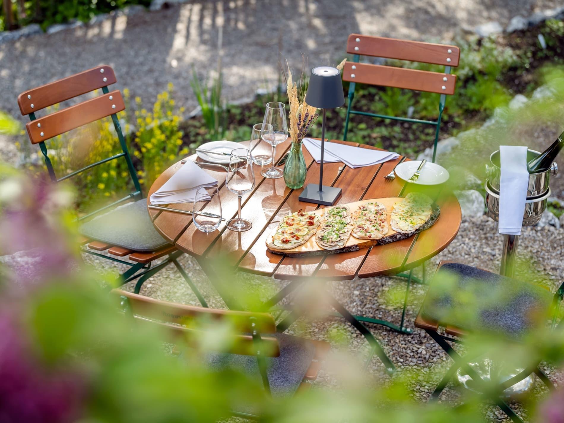 Kräutergarten der Alperie am Schliersee